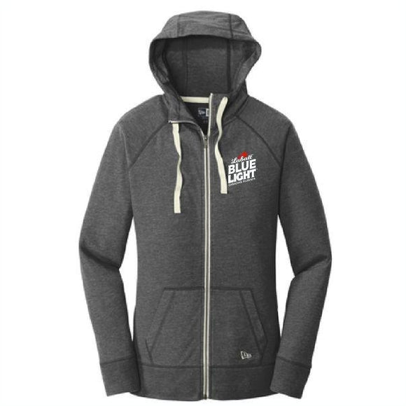 Labatt Blue Light New Era Ladies Sueded Cotton Full-Zip Hood