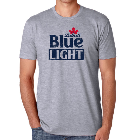 Labatt Blue Light Next Level Grey Tee