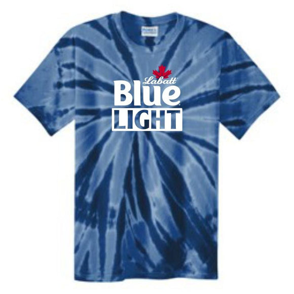 Port & Company Labatt Blue Light Tie Dye Tee