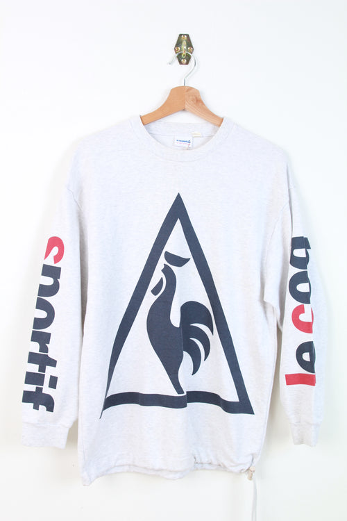 LE COQ SPORTIF BIG LOGO SWEATER