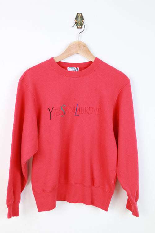 YVES SAINT LAURENT EMBROIDERED SWEATER