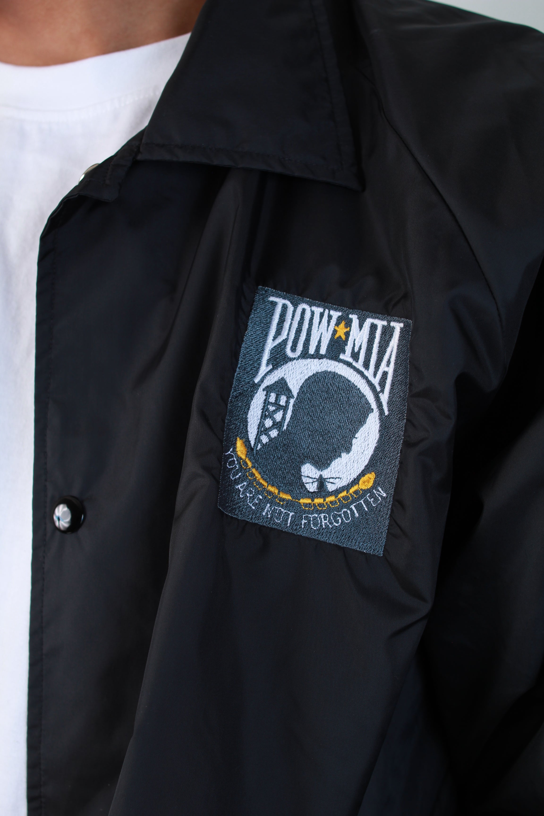 POW MIA HOODLESS JACKET