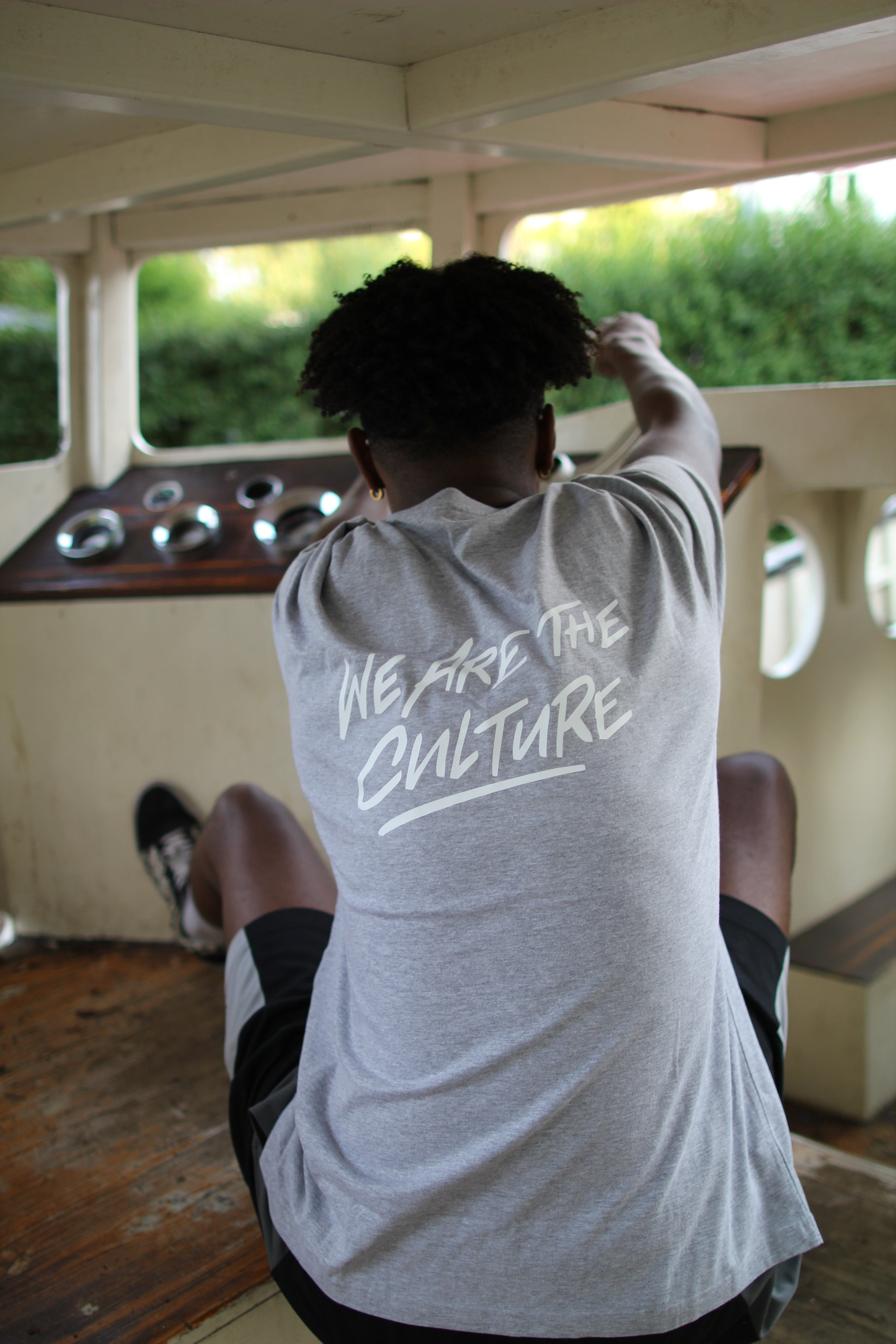 WE ARE THE CULTURE TEE GREY