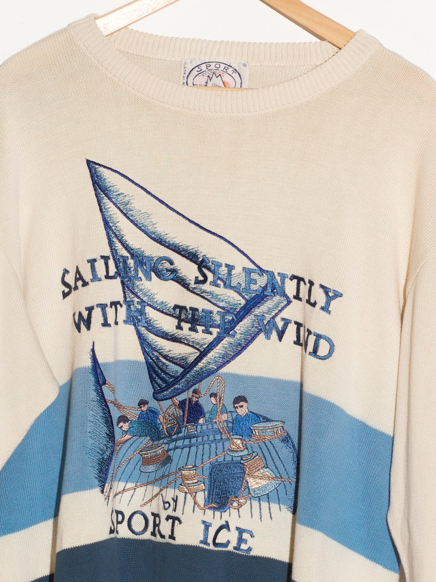 1991 ICEBERG SPORT KNIT SWEATER