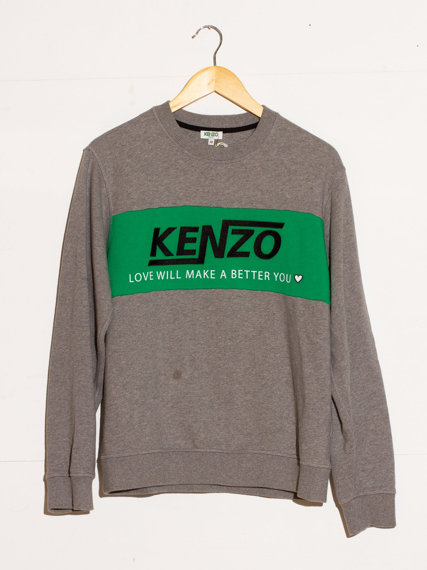 KENZO LOVE WILL MAKE YOU BETTER SWEATER