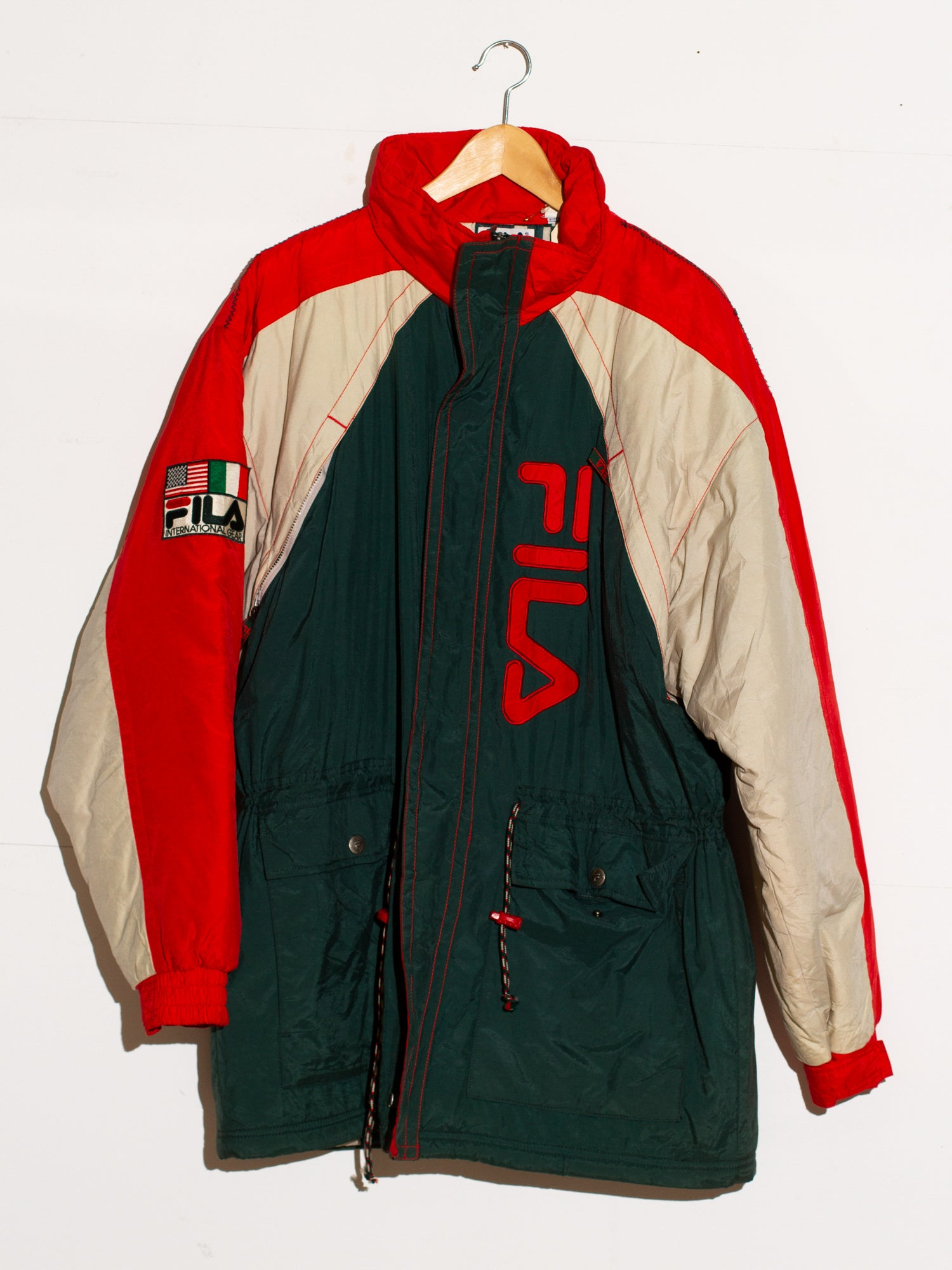 FILA HOODLESS WINTERJACKET