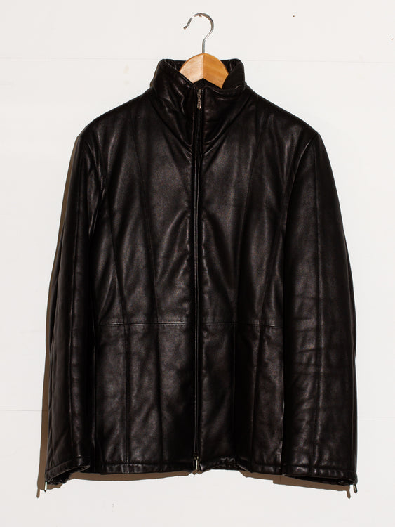 GIANNI VERSACE WINTER LEATHER JACKET