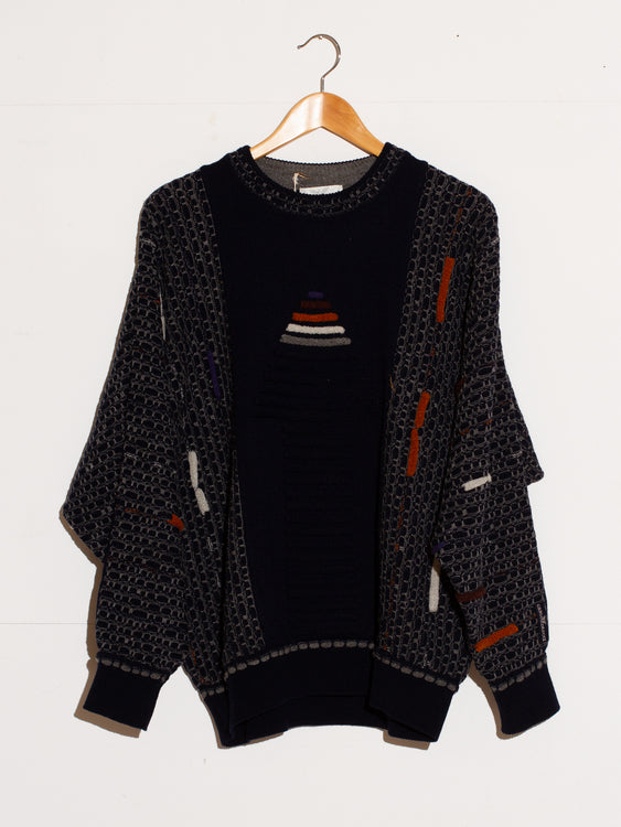 CARLO COLUCCI VINTAGE KNIT SWEATER