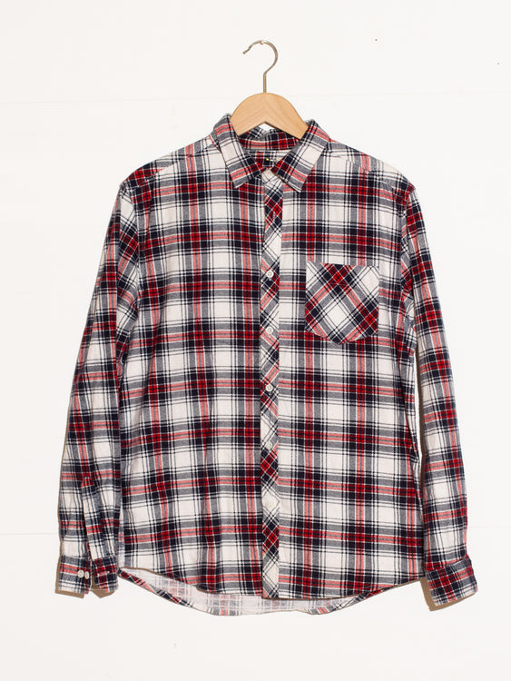 CLASSIC CHECKED WINTER BUTTONUP