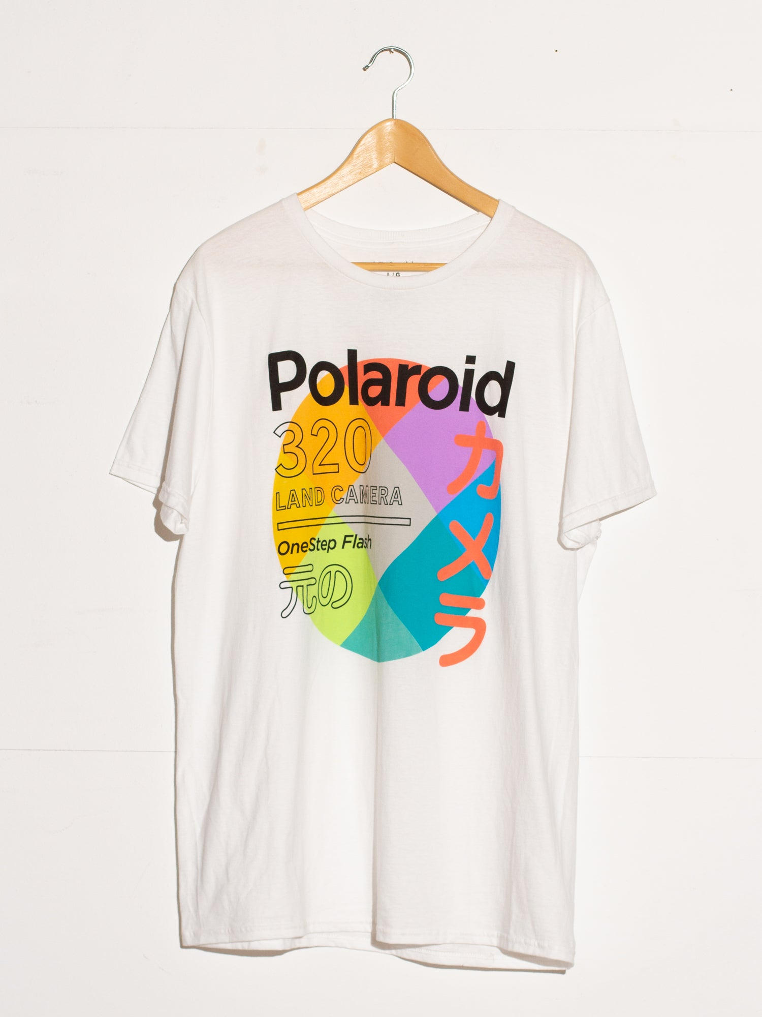 NEW POLAROID PRINT SHIRT
