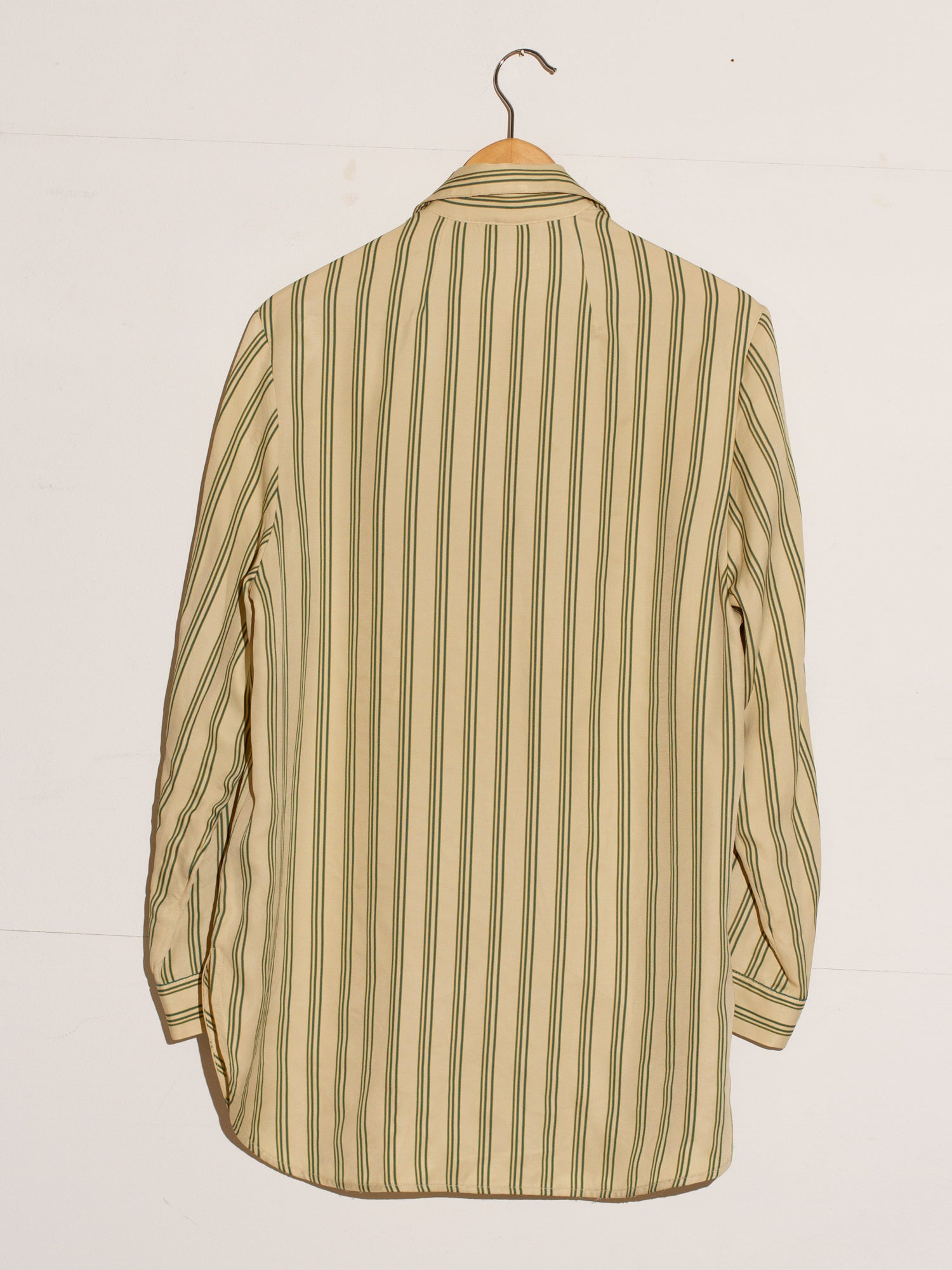CLASSY VINTAGE STRIPED BLOUSE