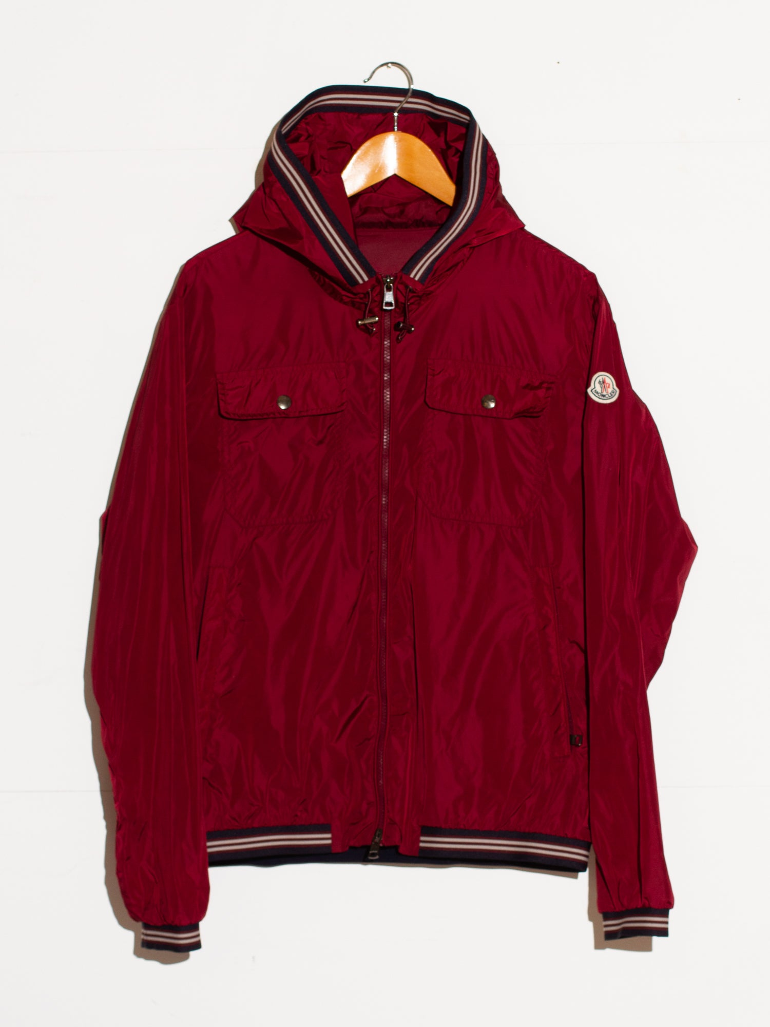 MONCLER JEAN CLAUDE HOODED WINDBREAKER