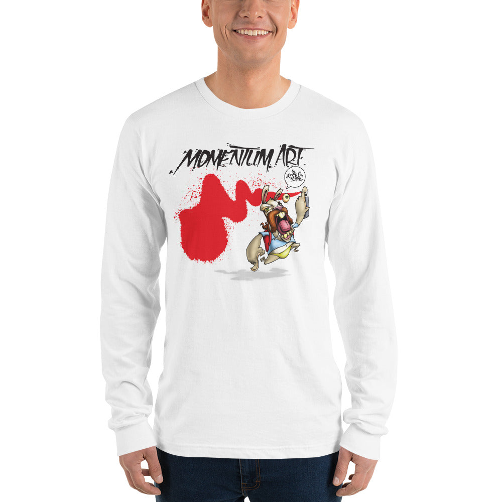 MOMENTUM ART TECH X SCRIBE Long sleeve t-shirt