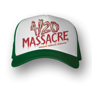 4/20 MASSACRE GREEN HAT