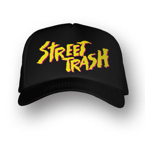 STREET TRASH BLACK HAT