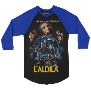 """L'ALDILA'"" THE BEYOND RAGLAN SHIRT"