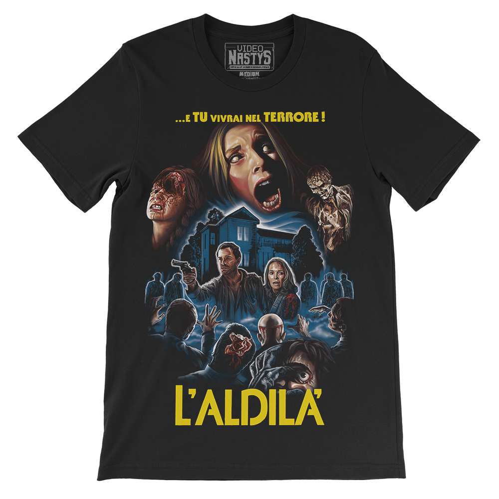"""L'ALDILA'"" THE BEYOND SHIRT"