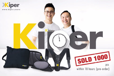 Kiper's made close to 6 figures in sales in the first 24 hours