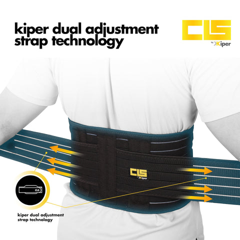 Kiper CLS Lumbar Spine Waist Protector with Dual Pad Collection (READY STOCK)