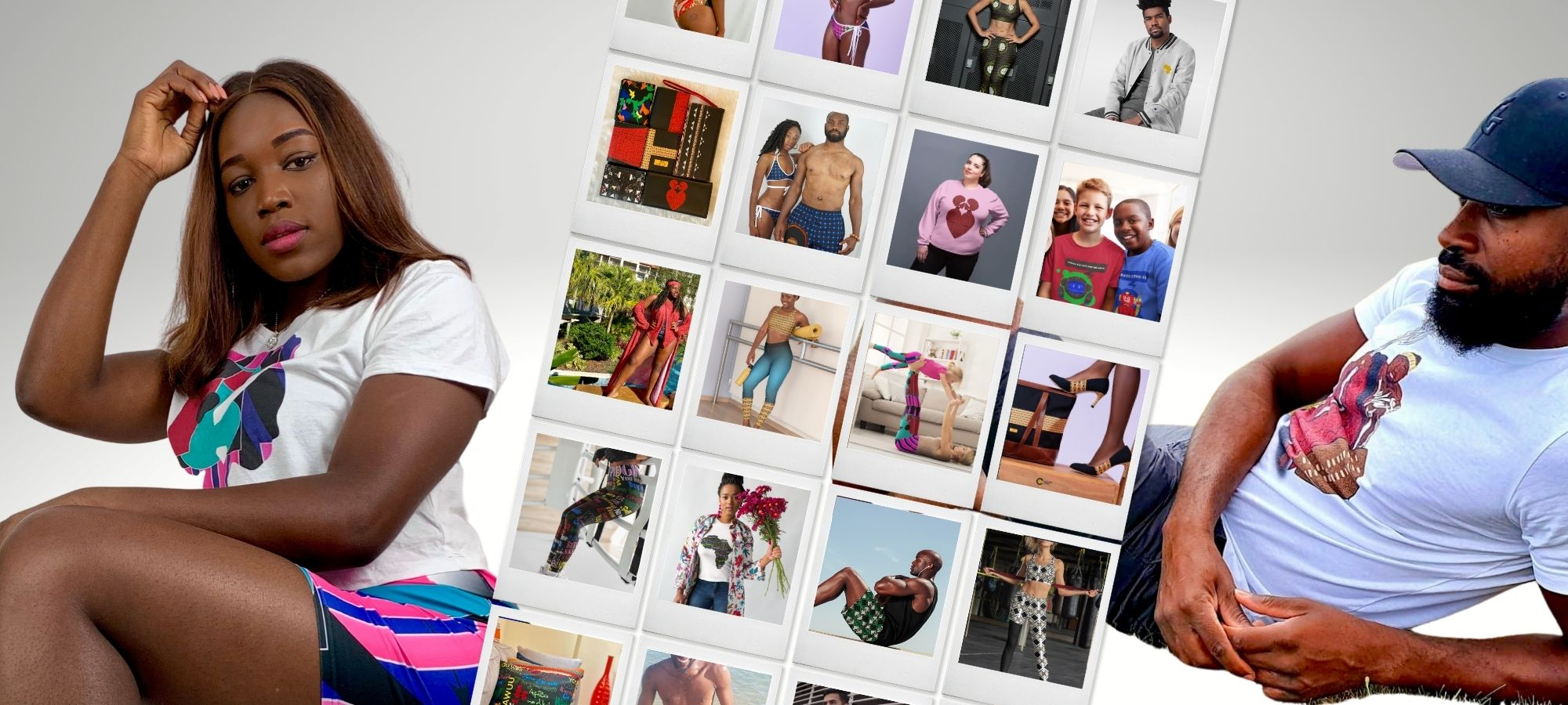 AfriBix activewear collage for about us page