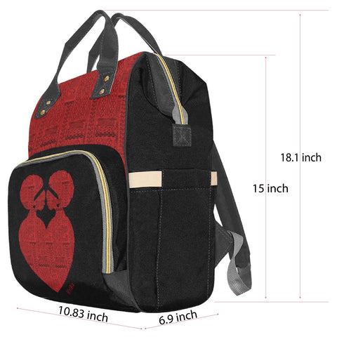 Diaper Bag Multifunctional Backpack Dimensions