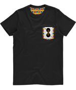 Unisex Pocket Tee - Alternate Print AfriBix Warrior Playing Cards