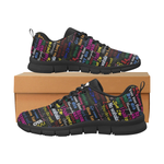 AfriBix Pidgin Men's Trainers - black