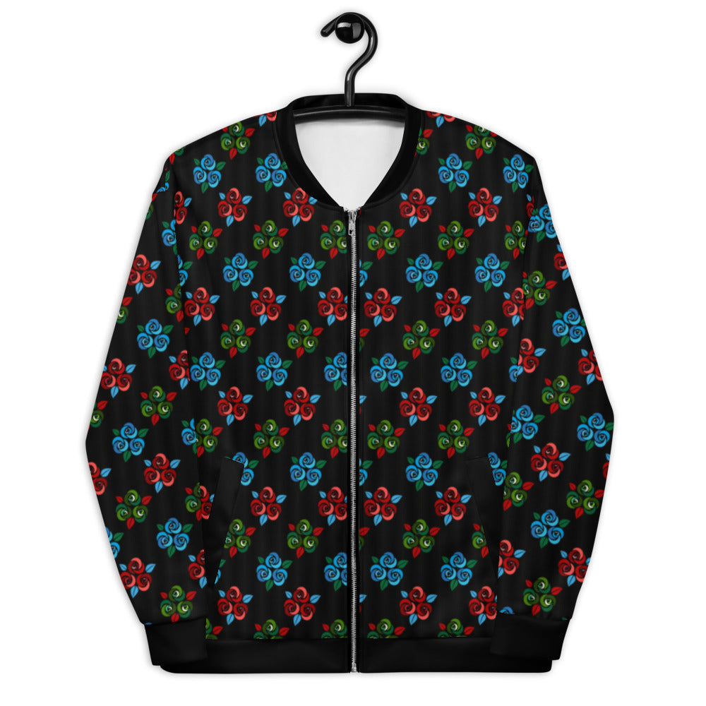 Rose Bouquet Unisex Bomber Jacket