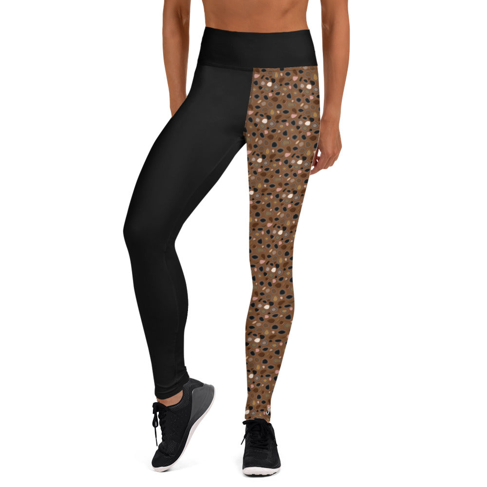 Skin Tone Cheetah High Waist  Leggings