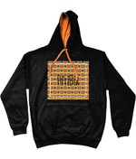 AfriBix Classic Alternate Print Unisex  Hoodie with contrast hood and string