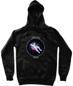 'I Need My Space' Astronaut Graphic Trendy Unisex Pullover Hoodie