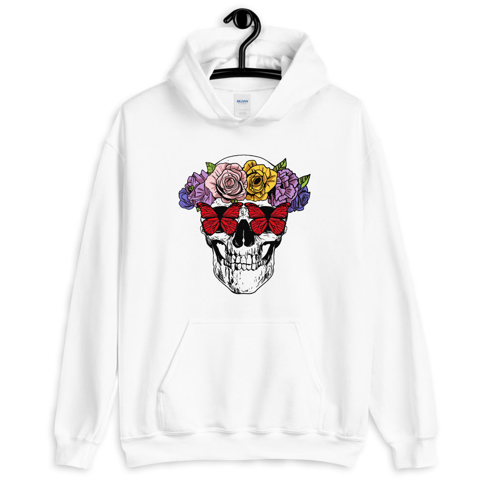 Garden of Skulls Graphic Comfortable Unisex Hoodie