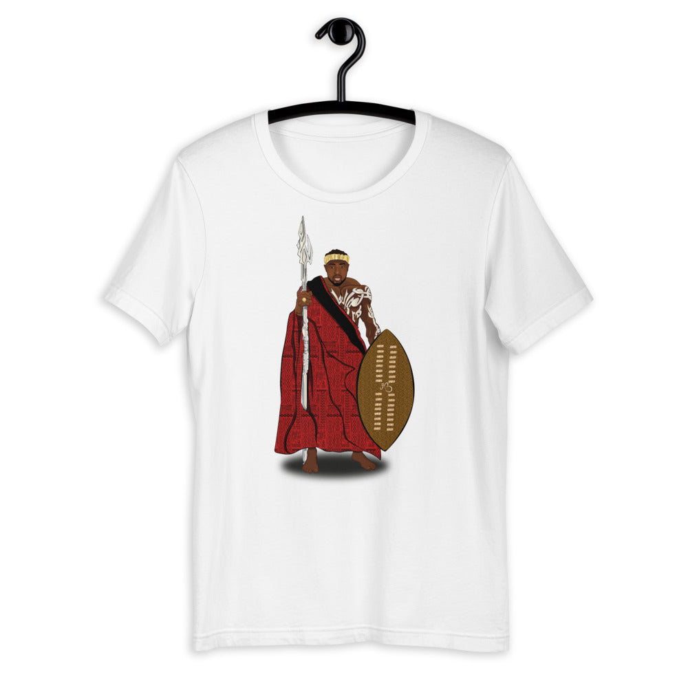 AfriBix Warrior African King Short-Sleeve Unisex T-Shirt