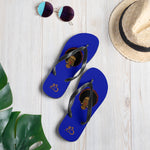 AfriBix Warrior Flip-Flops - Blue
