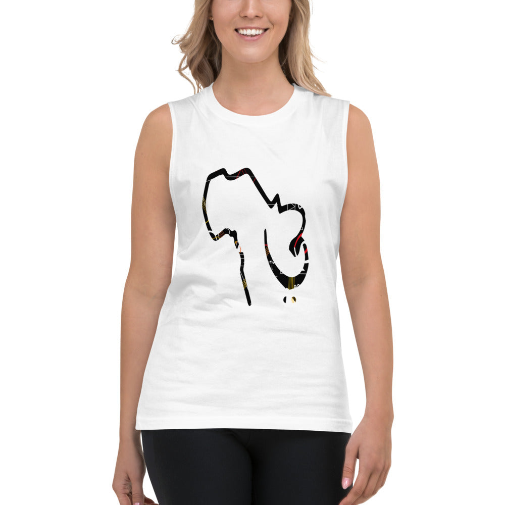 Sounds of Africa Unisex Muscle Shirt