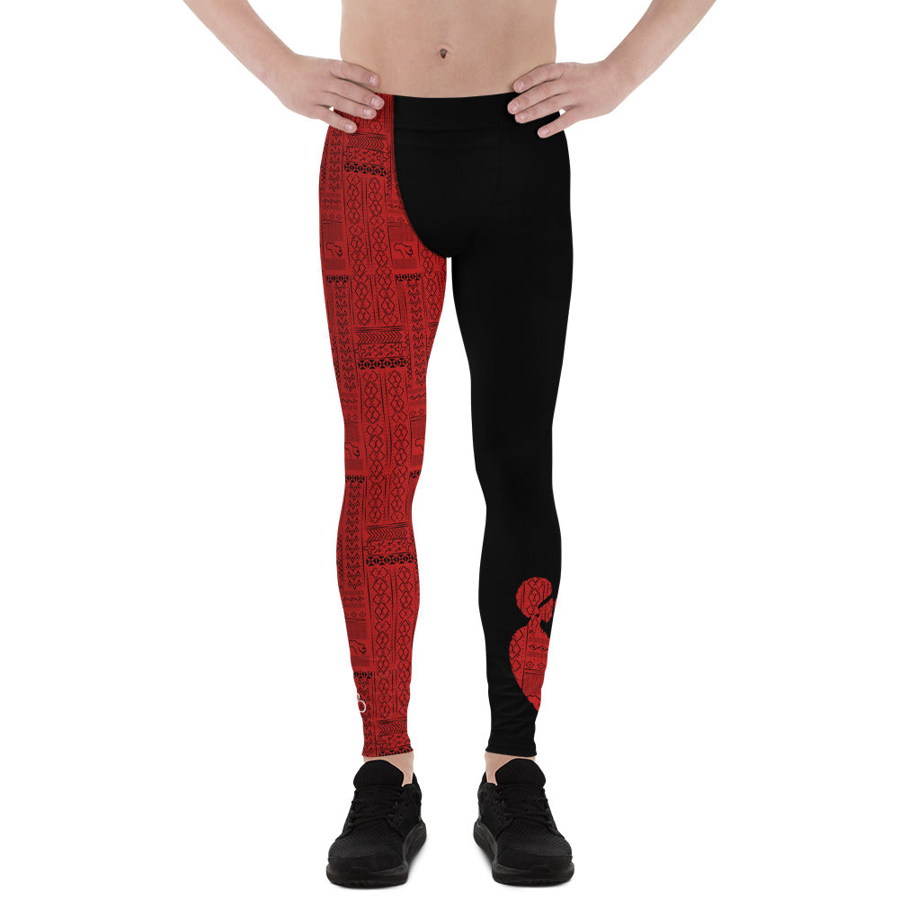 Ubuntu Tribal Men's Leggings