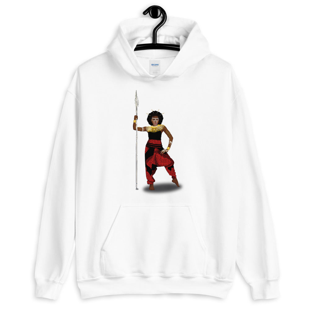 AfriBix Warrior African Queen Comfortable Unisex Hoodie