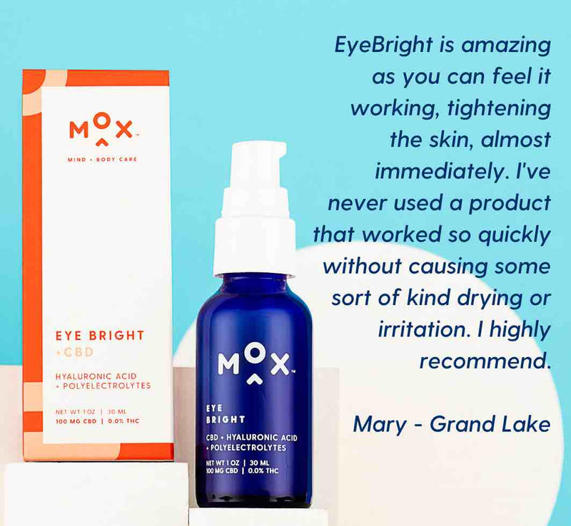 Morning & Night Eye Bright + Hemp Extract