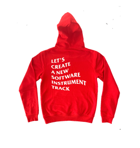 """New Track"" Hoodie (Red)"