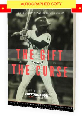 """THE GIFT AND THE CURSE"" - Autographed Paperback Edition 169 pg. Blk/Wht - SOLD OUT!"
