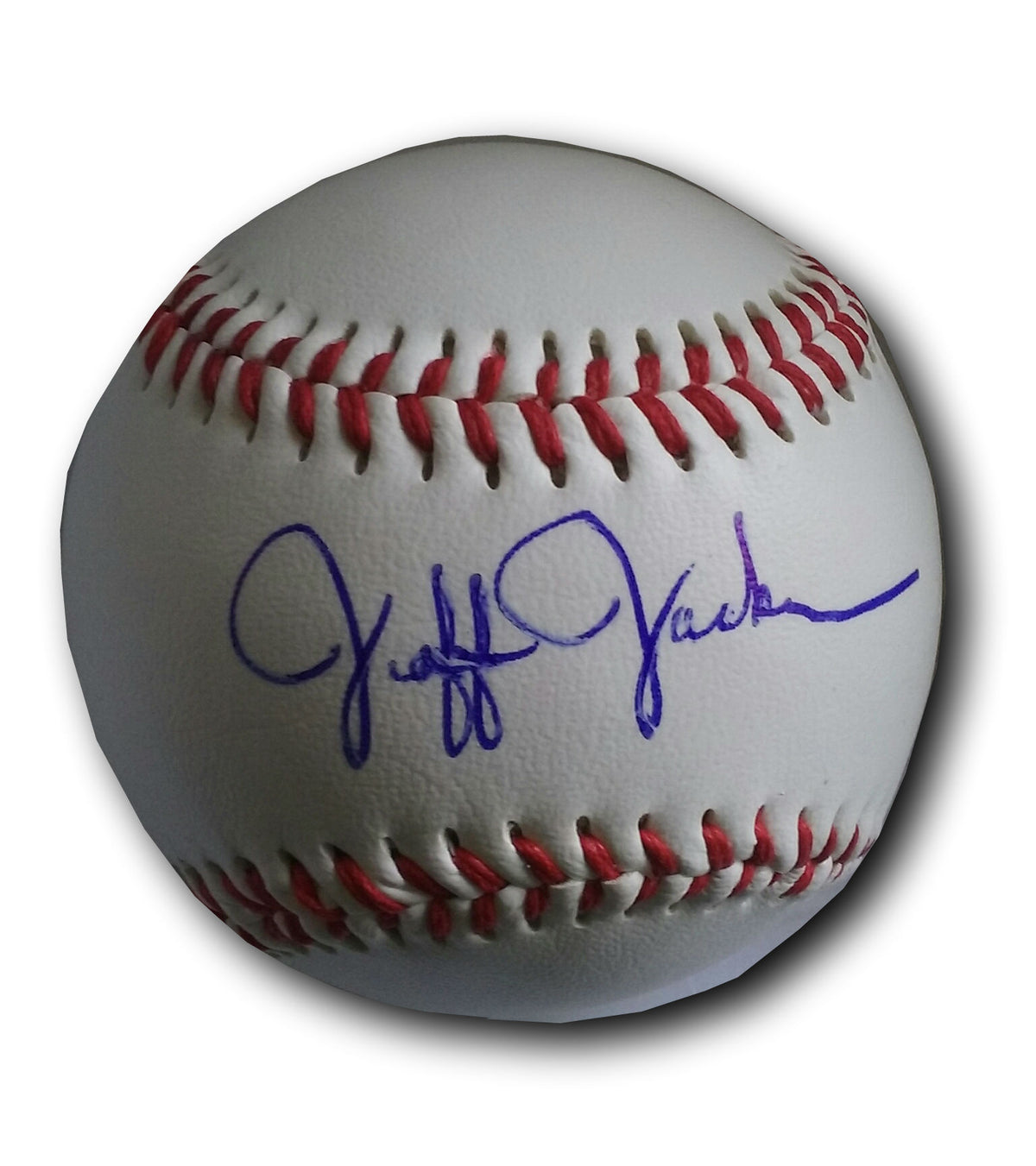 "Jeff Jackson ""Autographed"" Baden-Baseball - Limited time only!"