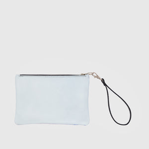 Cellular III Leather Clutch