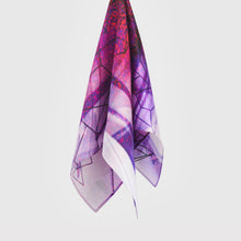 Load image into Gallery viewer, Retinal III Silk Scarf