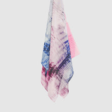 Load image into Gallery viewer, Cellular III Silk Scarf