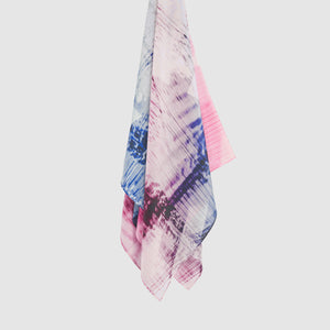 Cellular III Silk Scarf
