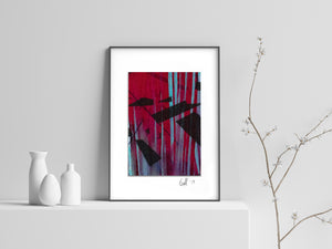 Lab Sample #7 Art Print