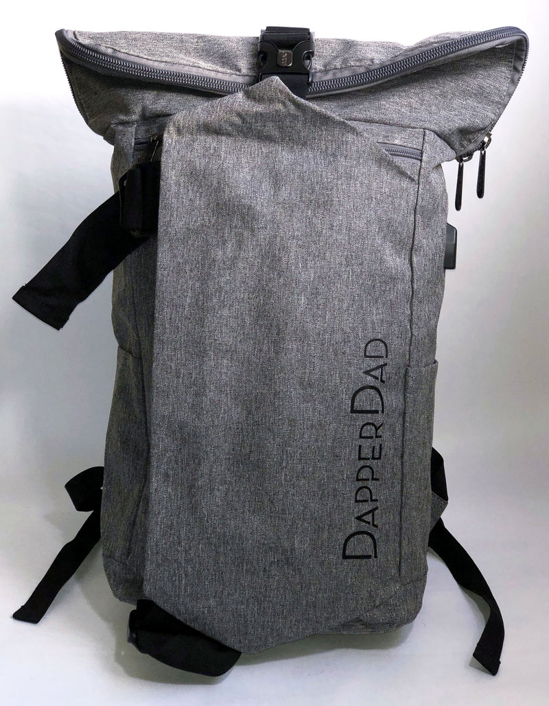 Dapper Deluxe Bag - Grey (Pre-Order Now)