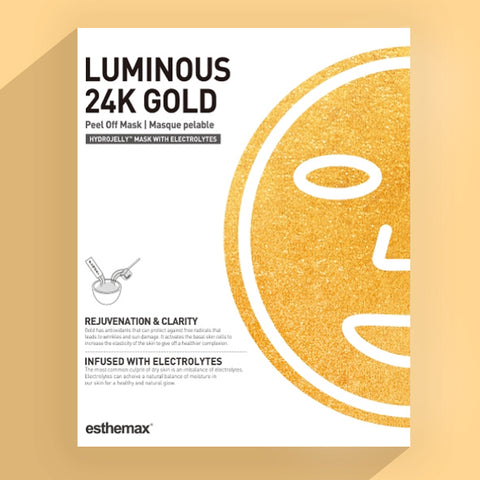Esthemax Hydrojelly Mask - Luminous 24K Gold