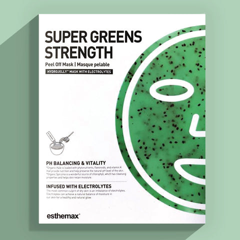 Esthemax Hydrojelly Mask - Super Greens Strength