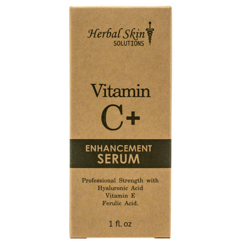 Herbal Skin Solutions C+ Enhancement Serum - 30 mL Bottle